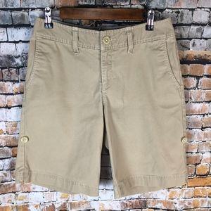 Eddie Bauer Women Khaki Shorts